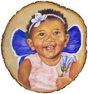 Baby in Karner Blue