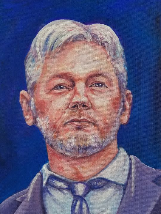 Assange - Prints from Creation Creatures