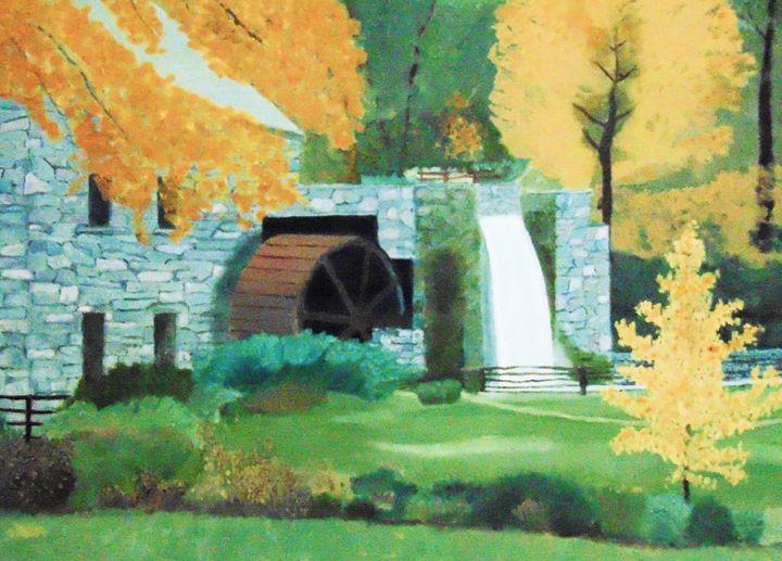 Old Mill - Dean Duffield Art