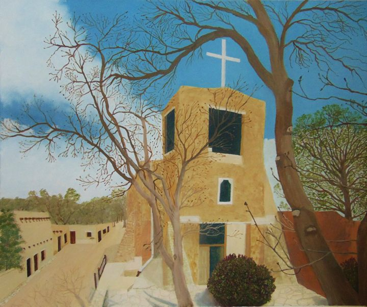 Oldest church in the USA - Dean Duffield Art