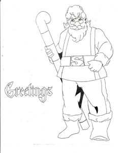 Santa's Greeting - Jeffrey Conyers-True Faith Publishing of Nashville