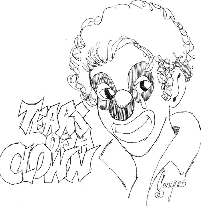 Conyers'-Tears of A Clown illustrati - Jeffrey Conyers-True Faith Publishing of Nashville