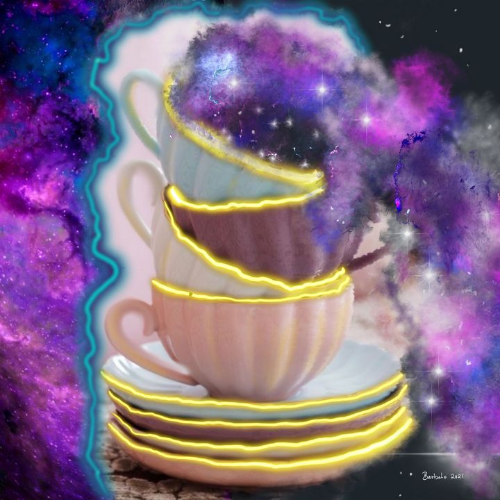 A Teacup Galaxxe - Barbelo Creations
