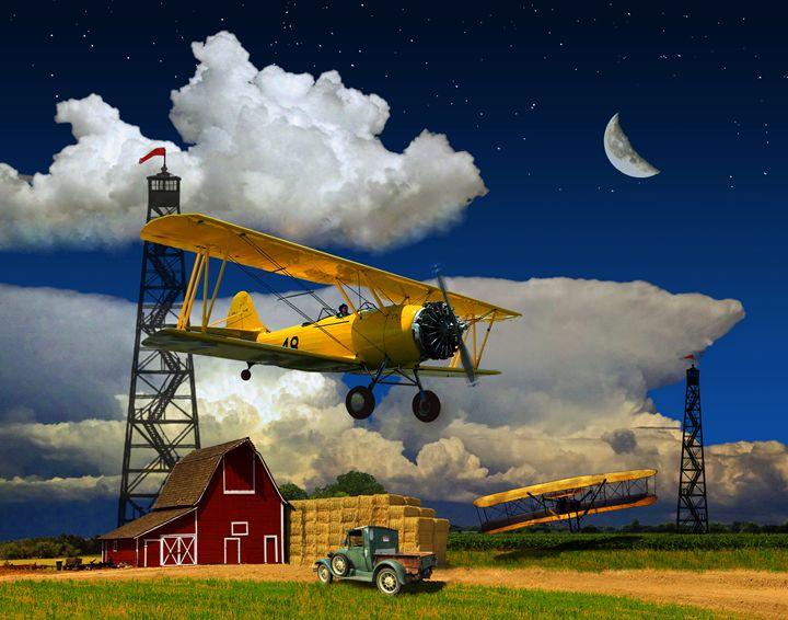 EARLY FLIGHT - BARNSTORMING - Gerry Slabaugh Photography
