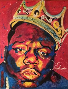 Biggie Smalls Original Print