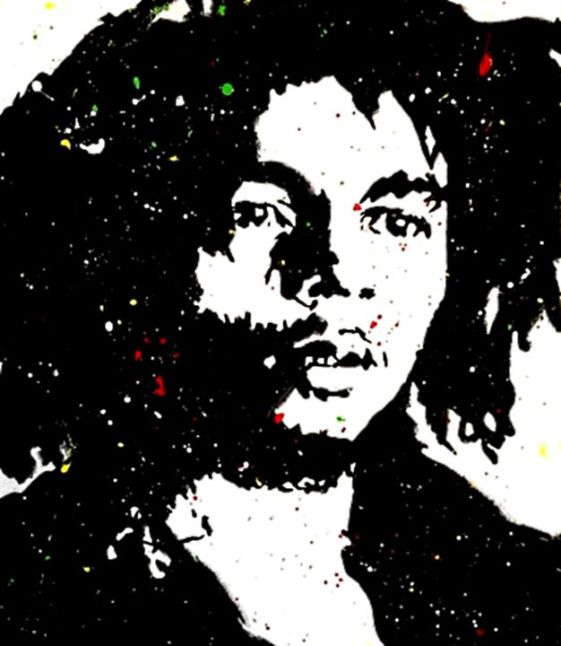 Bob Marley Throwback - D'Artist Creations