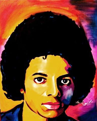 Michael Jackson Original Print - D'Artist Creations