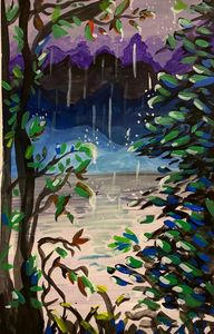 Raining in the Forest
