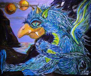 Dragon fougueux