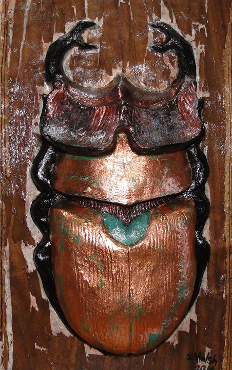 Le Scarabe sacre - SLW Artiste Multidisciplinaire