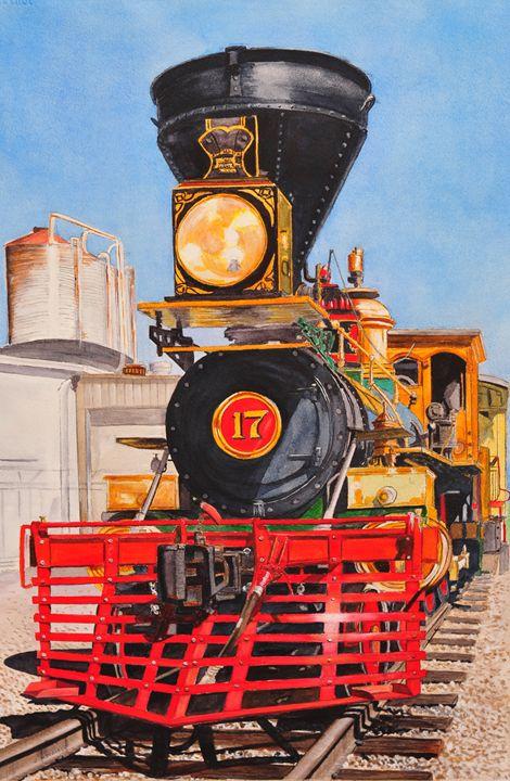 Engine 17, New Freedom, PA - John W. Walker Art