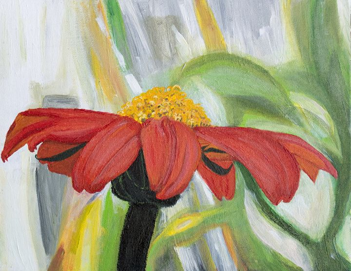 Mexican Sunflower - MKDL Paintings and More