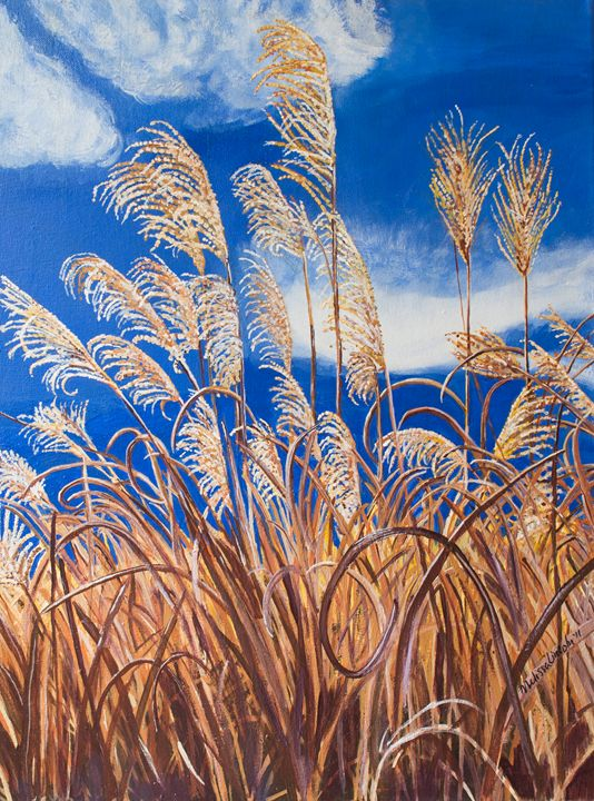 Maiden Grass - MKDL Paintings and More