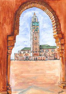 Hassan II Mosque,Casablanca,Morocco
