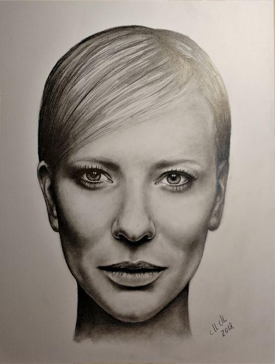 Custom pencil portrait - MM Art Studio