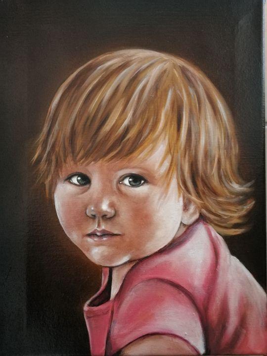 Custom oil portrait painting - MM Art Studio