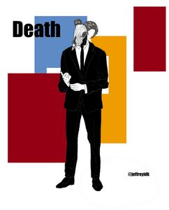 Death in a suit