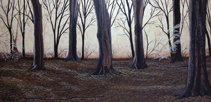 Misty Glow - yukitkat art/ kathleen Y Parr