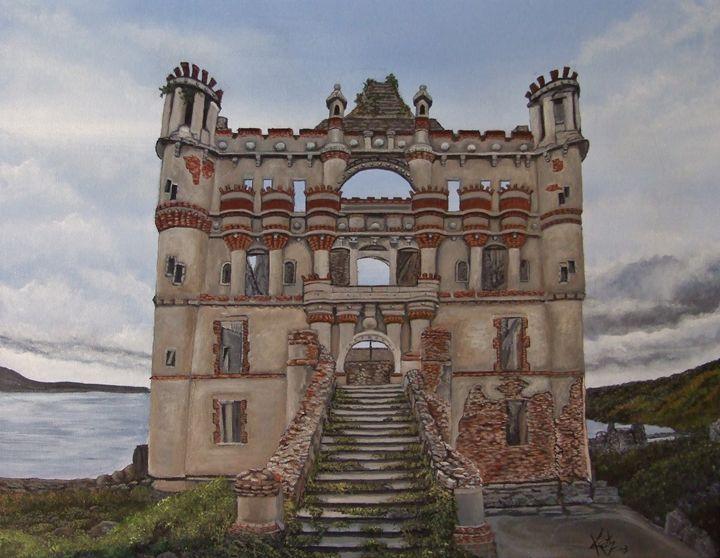 Ivory Tower - yukitkat art/ kathleen Y Parr