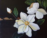 16x20 acrylic magnolia
