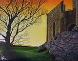14x18 Acrylic Castle
