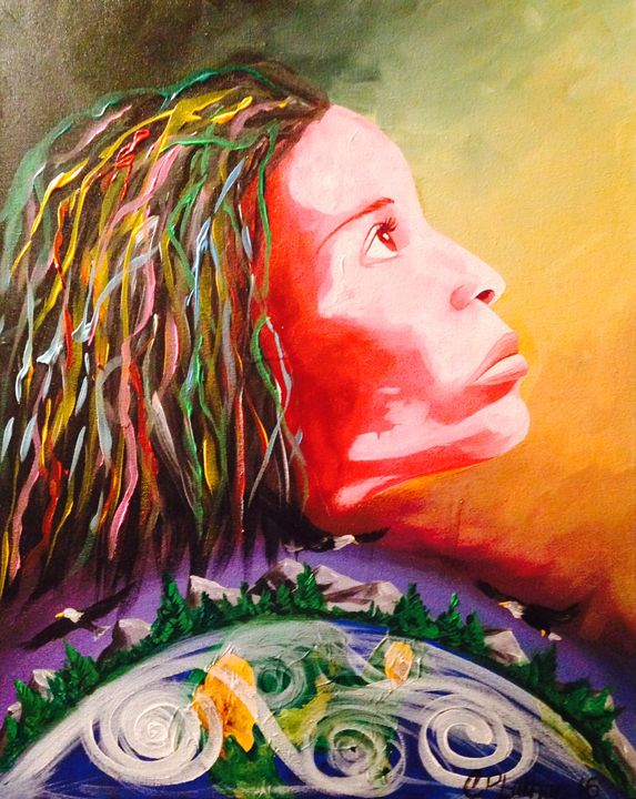 Freedom Without Constraints - Christie Pheona Lathan Art For You
