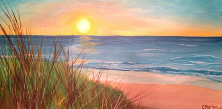 Breath the Beach - Christie Pheona Lathan Art For You