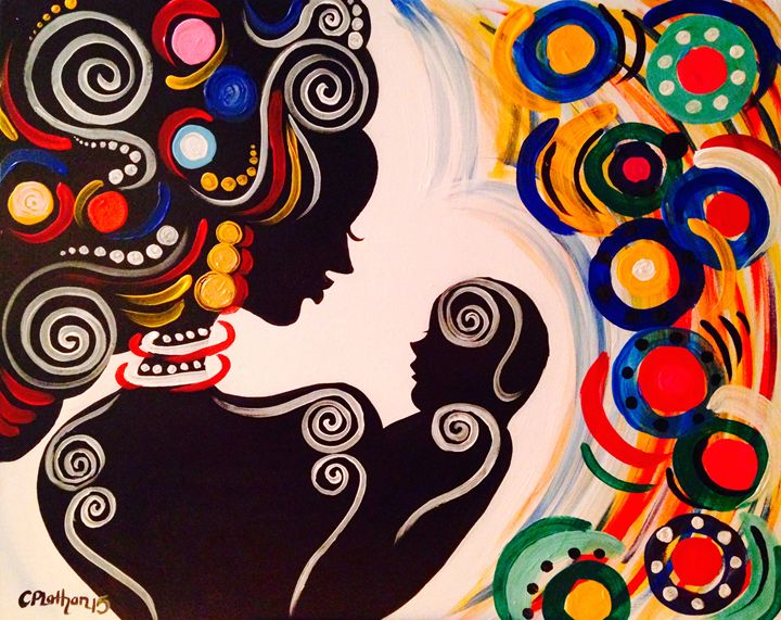 Eva's Baby - Christie Pheona Lathan Art For You