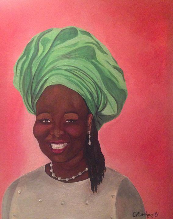 Naija Beauty - Christie Pheona Lathan Art For You