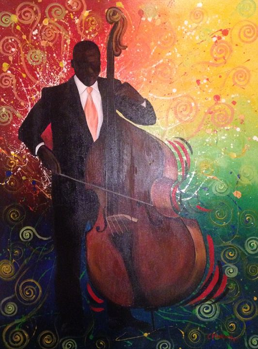 Masterful Musician - Christie Pheona Lathan Art For You