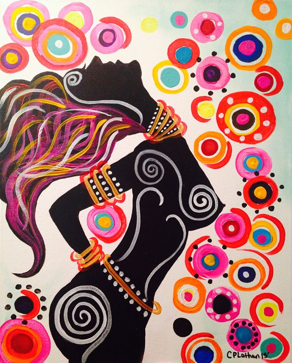 A Long Day and Night - Christie Pheona Lathan Art For You