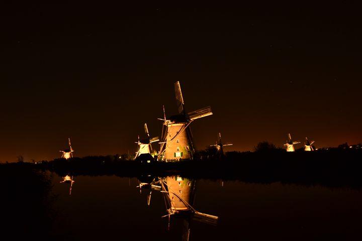 Windmills Kinderdijk - Natarch