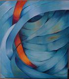 Oil on canvas 90X80 cm