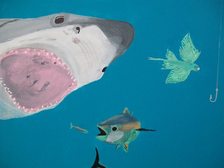 Food Chain - Photo Art by D J Chesterton