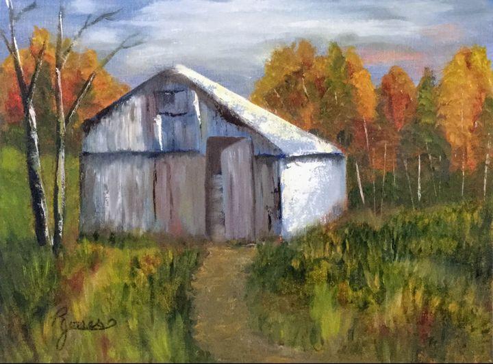 Country Barn - Regena Jones Art In Bloom