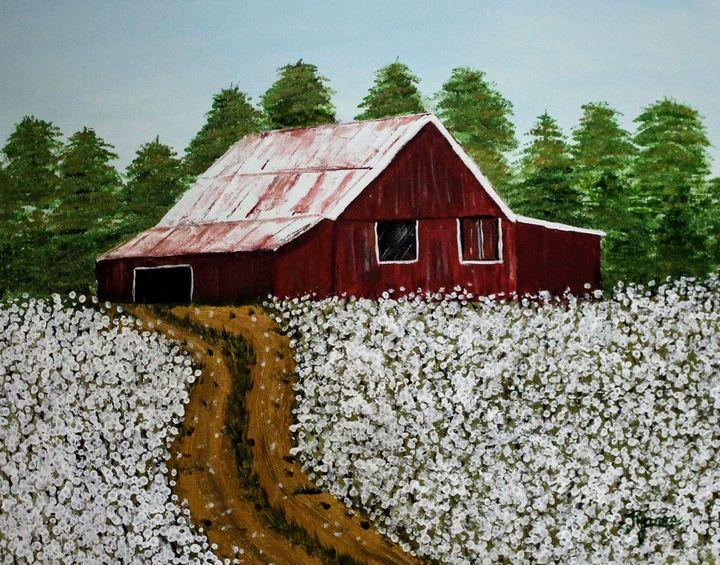 White To Harvest - Regena Jones Art In Bloom