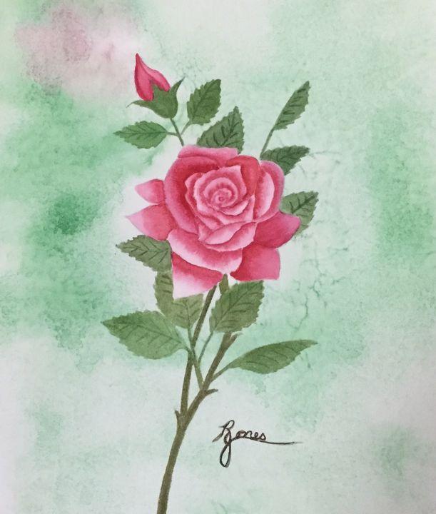 Isn't She Lovely - Regena Jones Art In Bloom