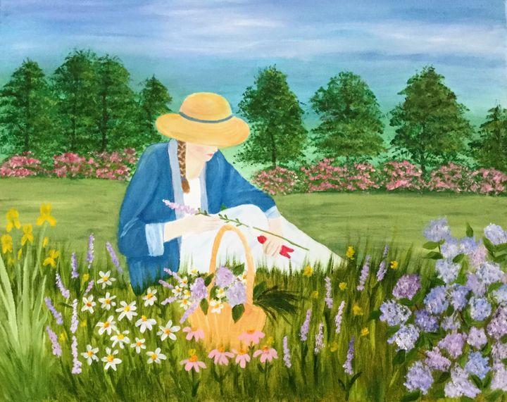 Garden Sanctuary - Regena Jones Art In Bloom