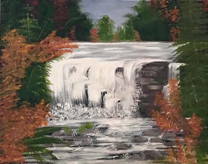 Little River Falls - Regena Jones Art In Bloom