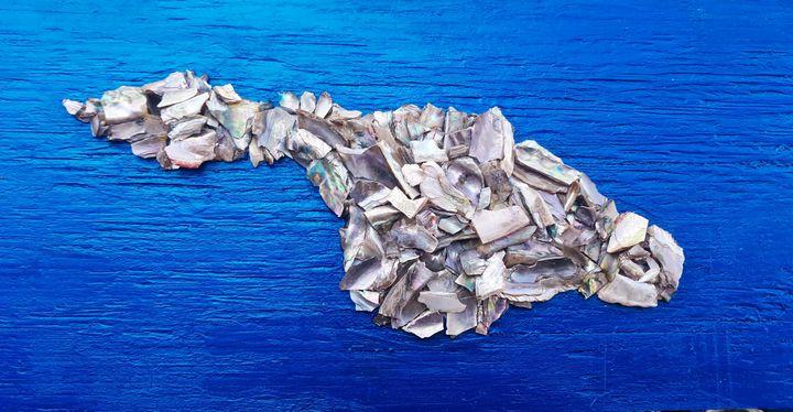 HAND CRAFTED ABALONE CATALINA ISLAND - Islandtreasures247