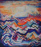 160cm-140cm Acrylic Painting
