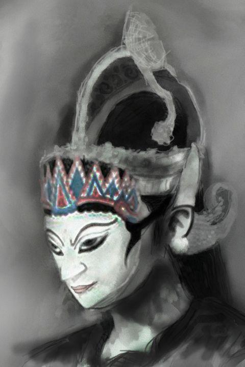the mask - Galih Art