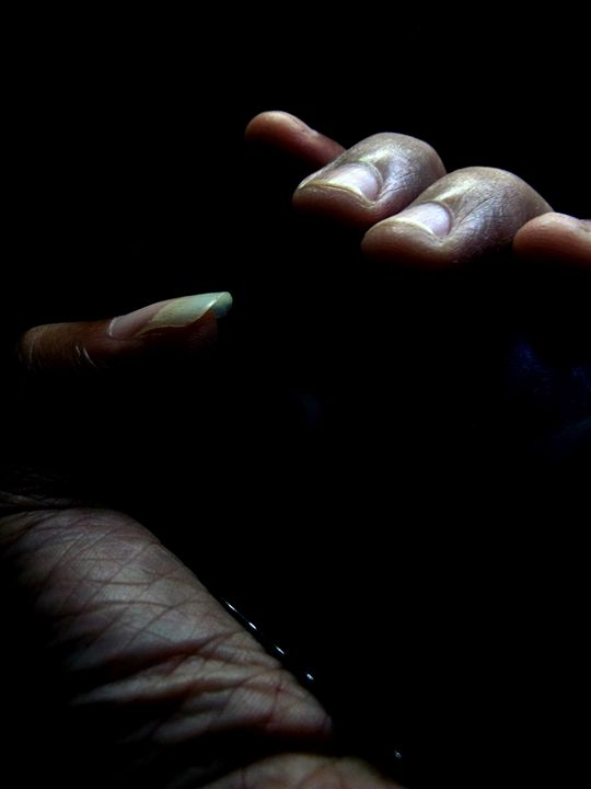 A hollow hand - Galih Art