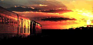 Sunset Train - SoonyaNeverland