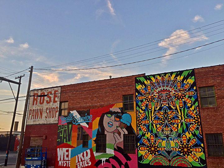 Tulsa painting - Fortheloveoftulsa
