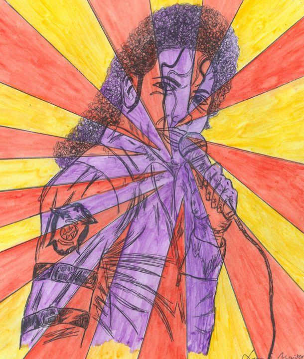 King of pop - Leon Maiolo Art