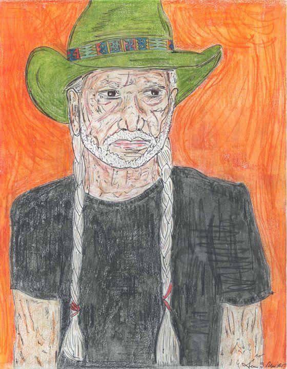 Willie Nelson - Leon Maiolo Art
