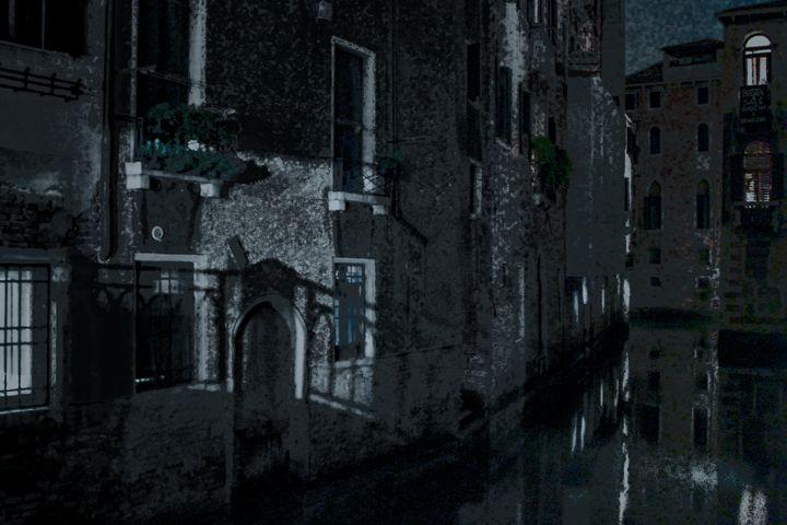 Moon Shadows, Venice - Alice Gur-Arie