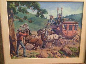 August Lenox Original Oil Painting
