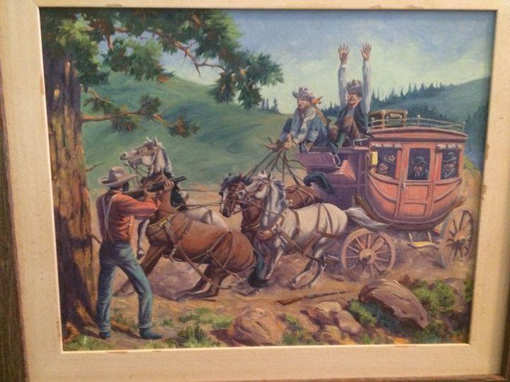 August Lenox Original Oil Painting - The Finer Things Ltd